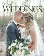 Triad Wedding Magazine cover