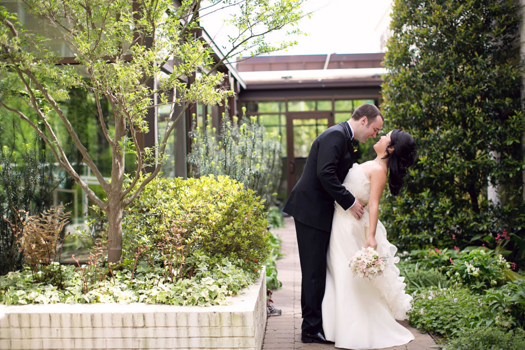 Wedding Photo Bluebell Garden