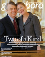 Greensboro Monthly Magazine (cover) December 2007