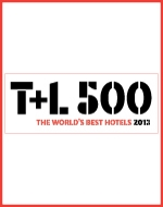 "Top 500 Hotel by Travel + Leisure ""Worlds Best Awards,"" December 2012"