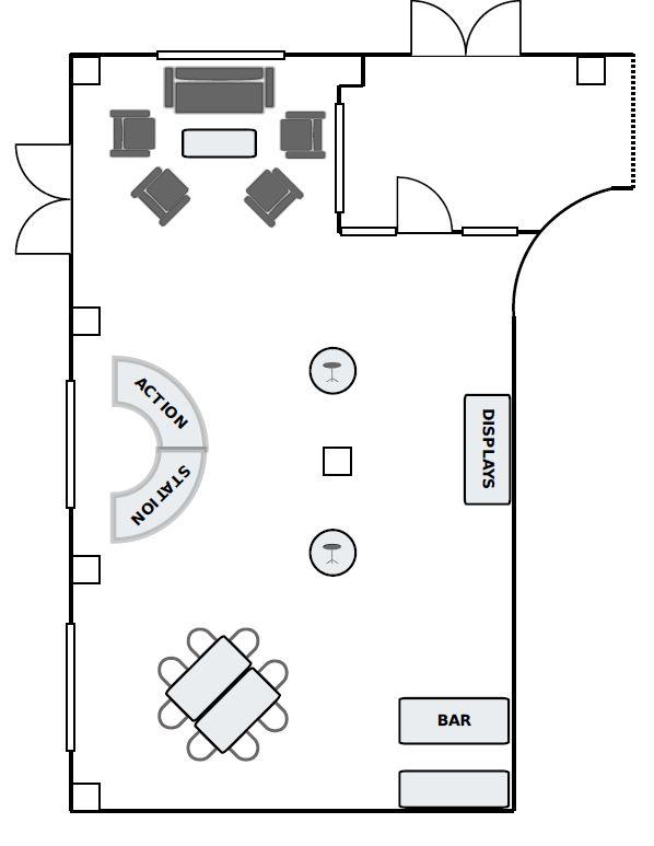 Reception Set Latham Room