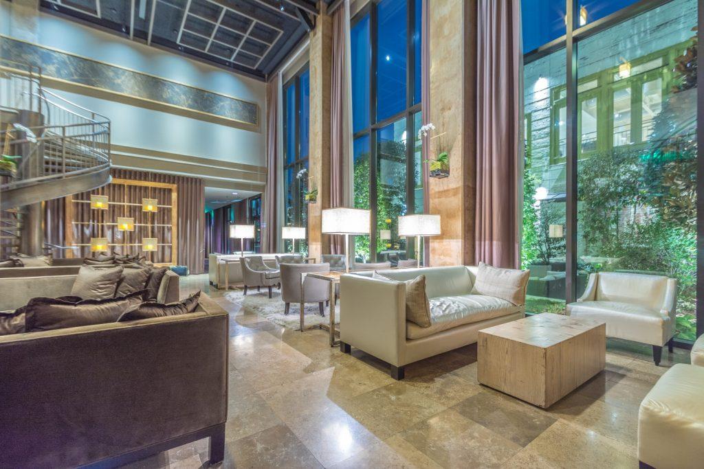 Social Lobby At Proximity Hotel In Greensboro Nc
