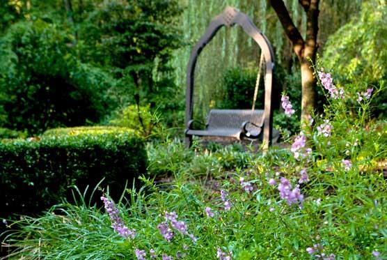 Tanger Bicentennial Garden in Greensboro NC