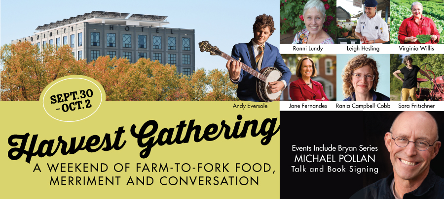 Harvest Gathering at Weekend of Farm to Fork Food Merriment and Conversation at Proximity Hotel