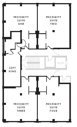 Proximity Suite floor plan