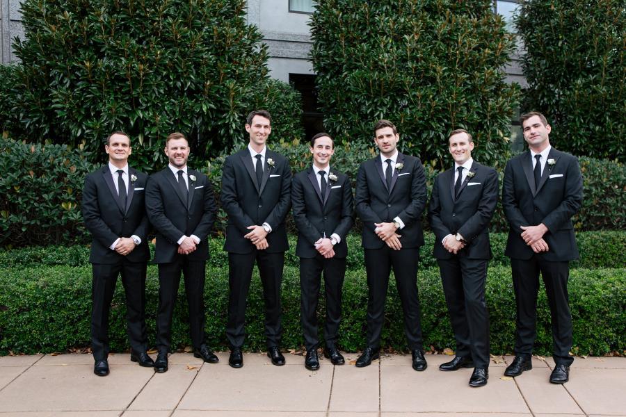 Wilkinson groomsmen