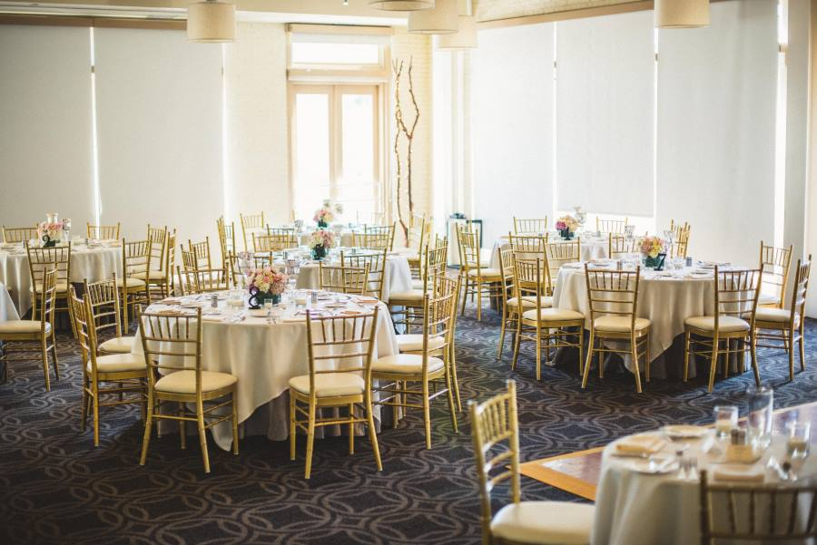 Wedding Reception in Weaver Room at Proximity Hotel