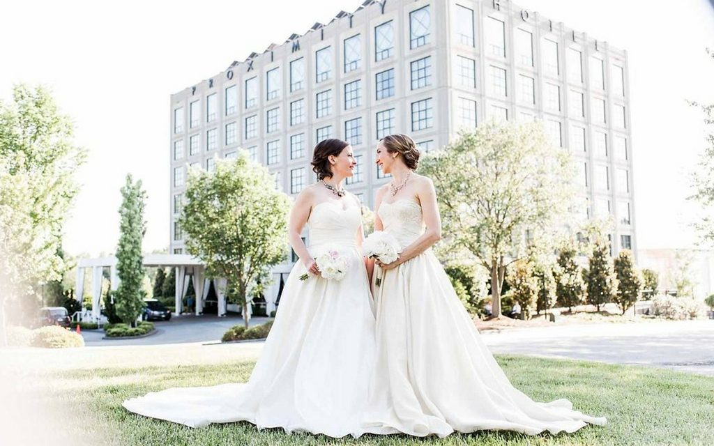 Proximity Hotel Wedding - Sarah and Catherine