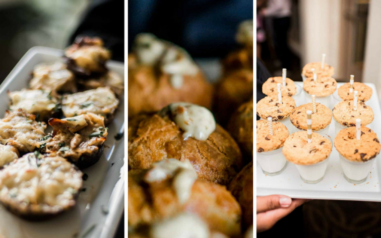 Proximity Hotel Wedding - Sarah and Catherine catering