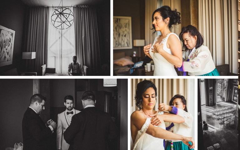 Christina and Danny Dream Wedding at Proximity Hotel , Getting Ready