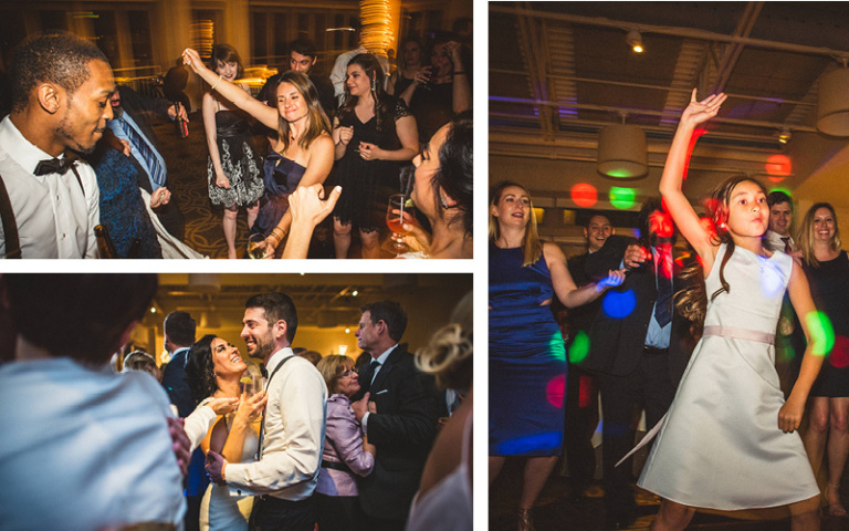 Christina and Danny Dream Wedding at Proximity Hotel, Dancing at the Wedding Reception