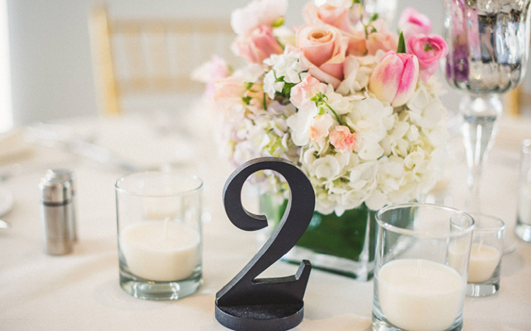 Christina and Danny Dream Wedding at Proximity Hotel, Tablescapes
