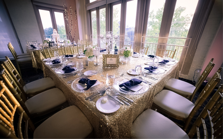 Proximity Wedding, Porsha & Eric, wedding decor