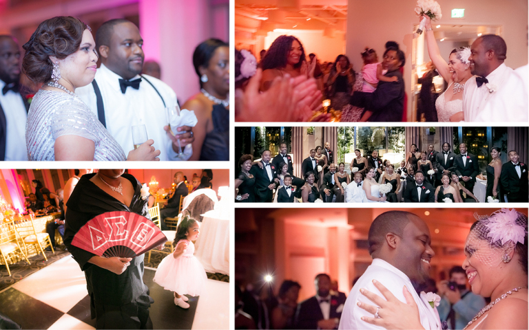 Proximity Wedding, Porsha & Eric, wedding reception,