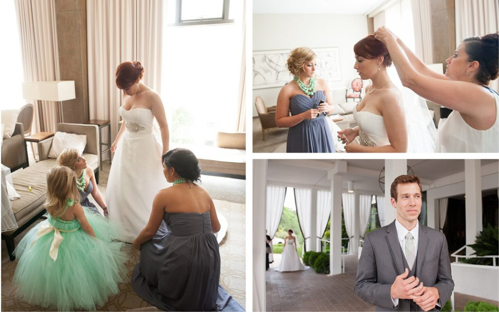Proximity Hotel Wedding, Molly and Neil, bride getting ready