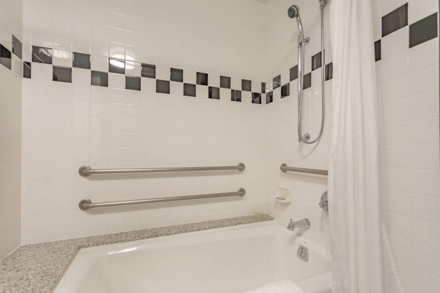 Accessible Tub Shower