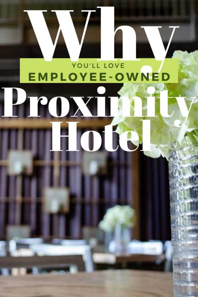 Proximity Hotel Employee Owned