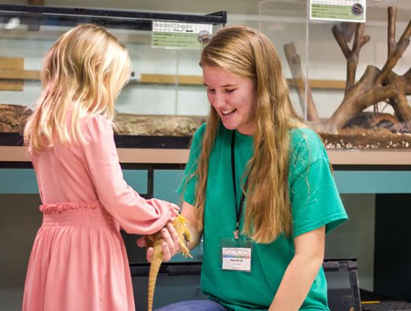 Greensboro Science Center Reptile Lab