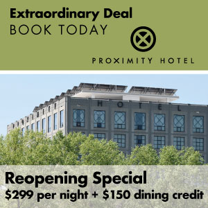 Reopening Special $299 per night + $150 dining credit