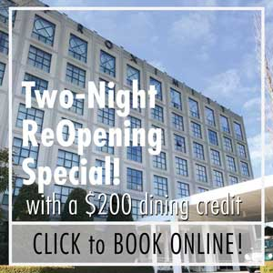 Two Night Reopening Special