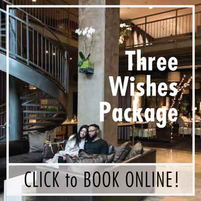Three Wishes Getaway Package from Proximity Hotel